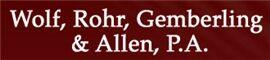 Wolf, Rohr, Gemberling & Allen, P.A.(St. Paul, Minnesota)