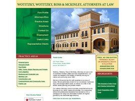 Wotitzky, Wotitzky, Ross & McKinley, Attorneys at Law (Port Charlotte,  FL)