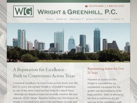 Wright & Greenhill, P.C. (Travis Co.,   TX )