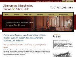 Zimmerman, Pfannebecker, Nuffort & Albert, LLP (Lancaster, Pennsylvania)