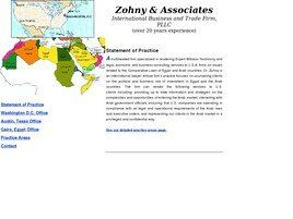 Zohny & Associates International Business and Trade Firm, PLLC (Washington,  DC)
