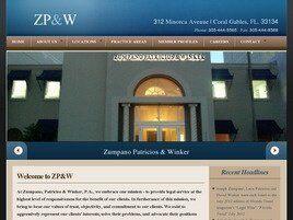 Zumpano Patricios & Winker P.A. (Coral Gables, Florida)