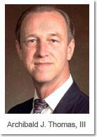 Archibald J. Thomas, III: Attorney with Archibald J. Thomas, III & Associates