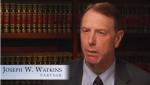Joseph W. Watkins: Lawyer with Watkins, Lourie, Roll & Chance, PC