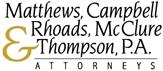 Matthews, Campbell, Rhoads, McClure & Thompson Professional Association