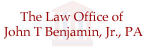 The Law Office of John T. Benjamin, Jr., P.A.
